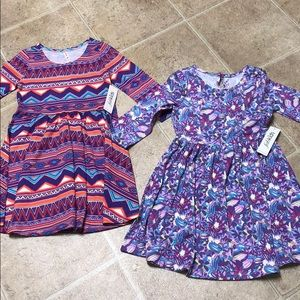 TWO brand new justfab dresses large